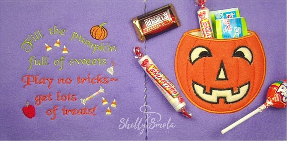 Candy Page Halloween Quiet Book by Shelly Smola