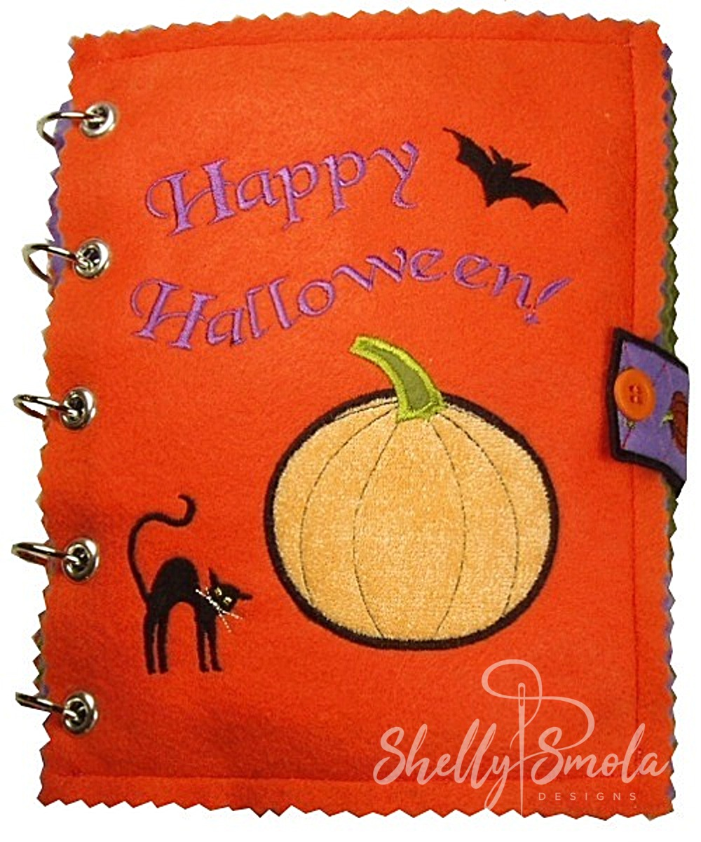 Halloween Quiet Book by Shelly Smola
