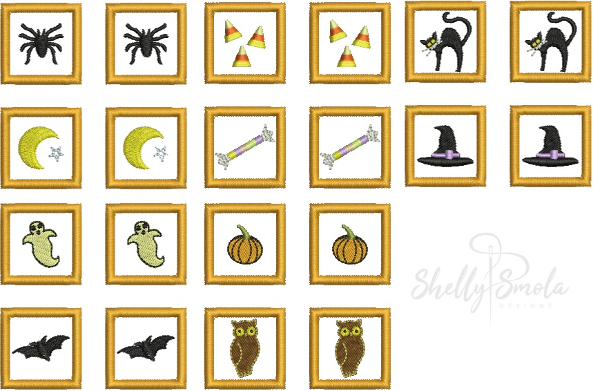 Halloween Memory Cards by Shelly Smola