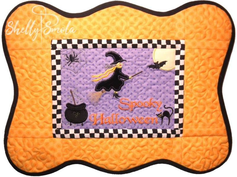 Halloween Placemat by Shelly Smola