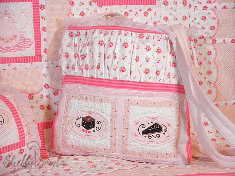 Sweet Temptations Quilt Purse by Shelly Smola