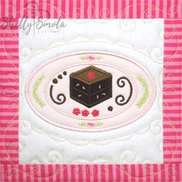 Sweet Temptations Quilt Brownie by Shelly Smola