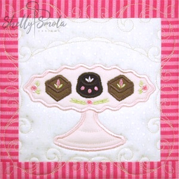 Sweet Temptations Quilt Chocolates by Shelly Smola