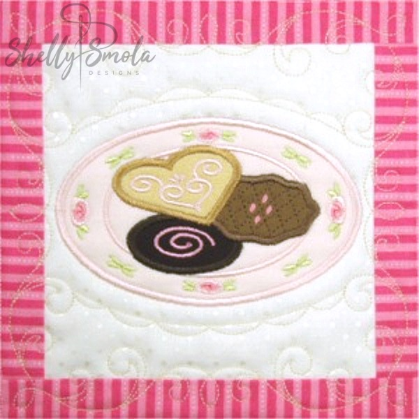 Sweet Temptations Quilt Cookies by Shelly Smola
