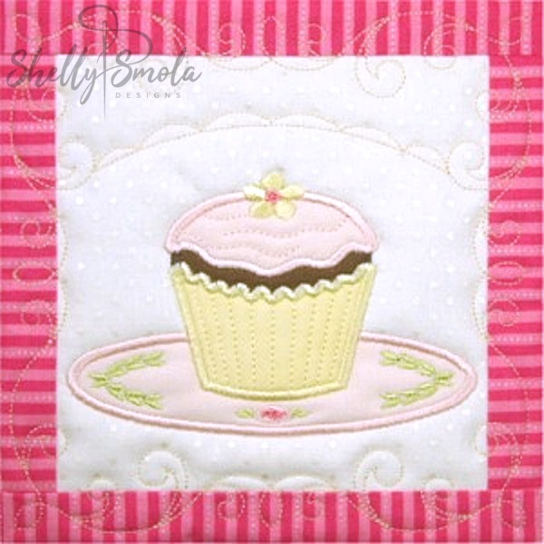 Sweet Temptations Quilt Cupcake by Shelly Smola