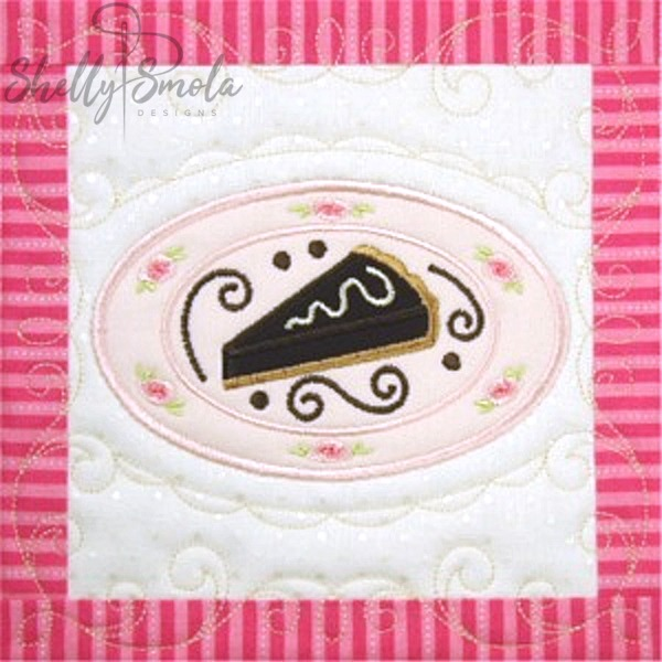 Sweet Temptations Quilt Chocolate Pie by Shelly Smola