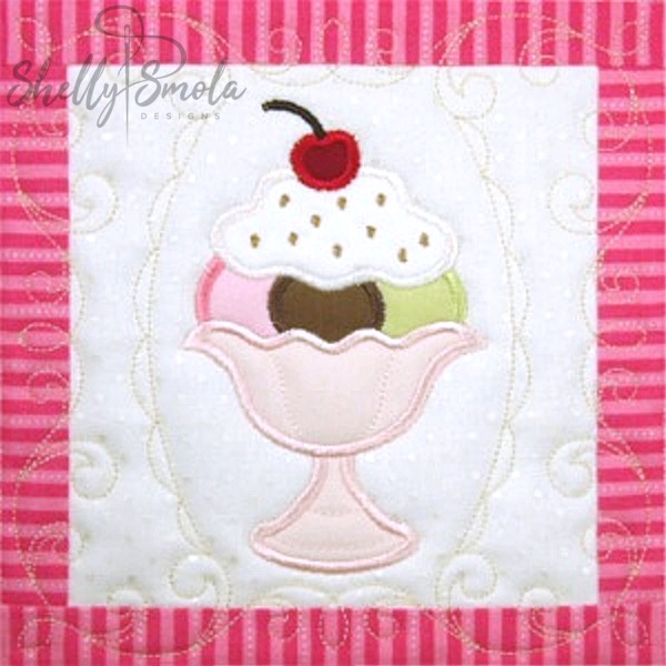 Sweet Temptations Quilt Sundae by Shelly Smola
