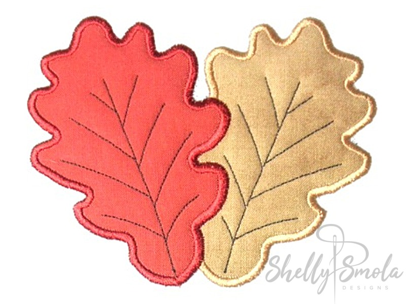 Fall Leaves Coaster by Shelly Smola
