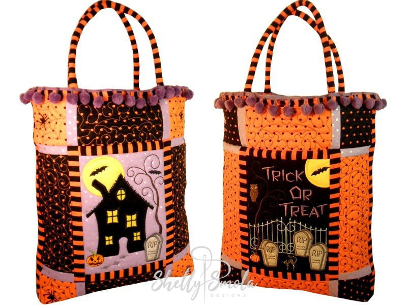 Large Trick or Treat Bags by Shelly Smola