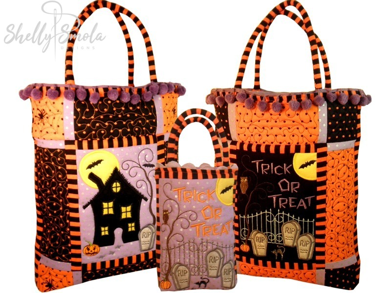Trick or Treat Bags by Shelly Smola