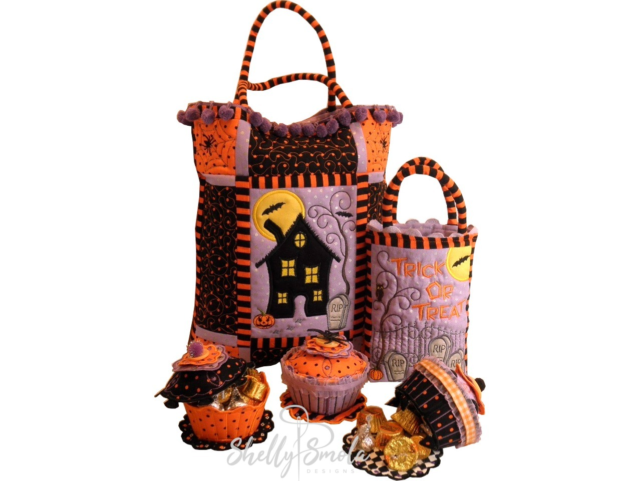 Trick or Treat Bags and Sew Sweet by Shelly Smola