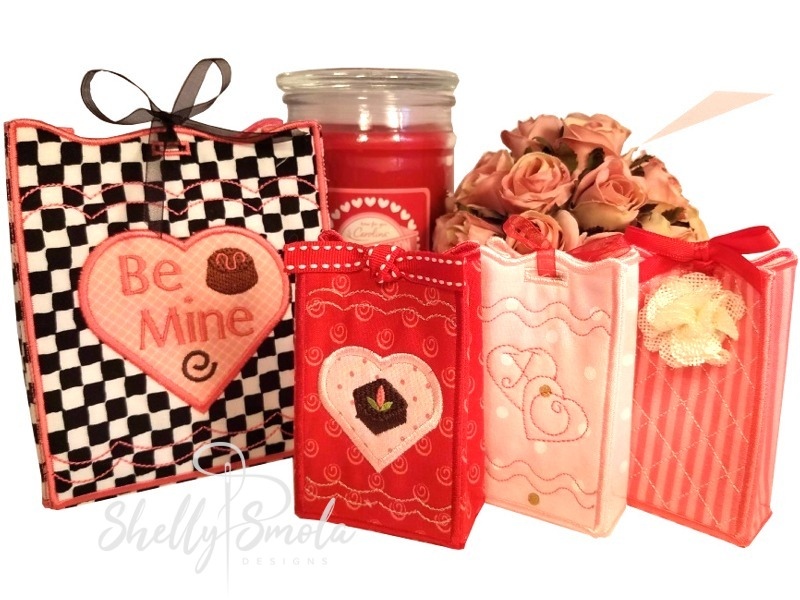 Valentine Treat Bags and Purses by Shelly Smola