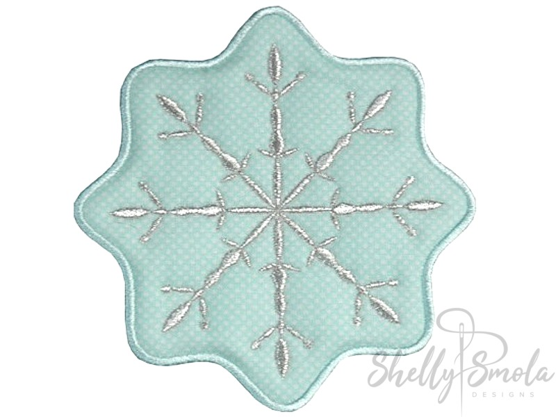 Snowflake Coaster by Shelly Smola