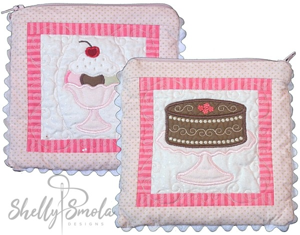 Quilt Square Coin Purse