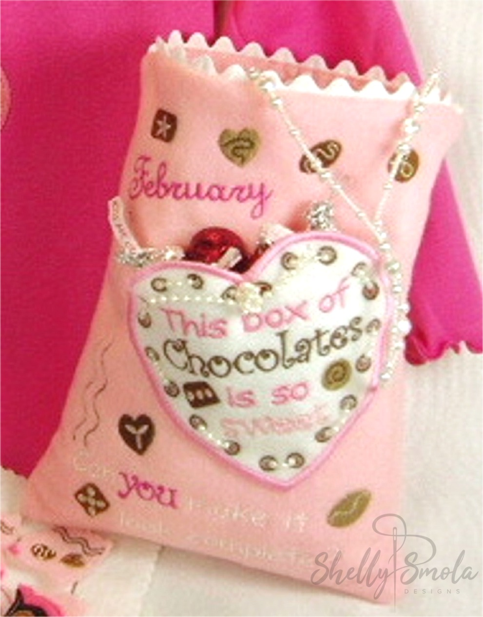 Valentine Puzzle Bag by Shelly Smola