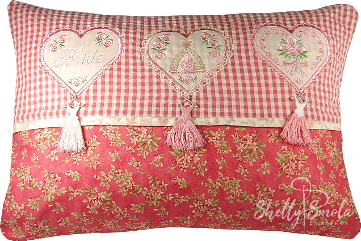 Tassel Pillow by Shelly Smola
