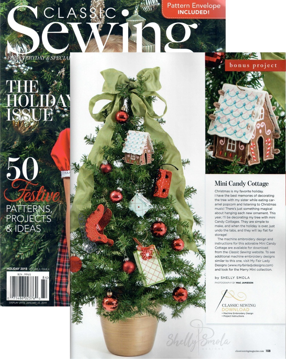 Merry Mini Article in Classic Sewing y Shelly Smola
