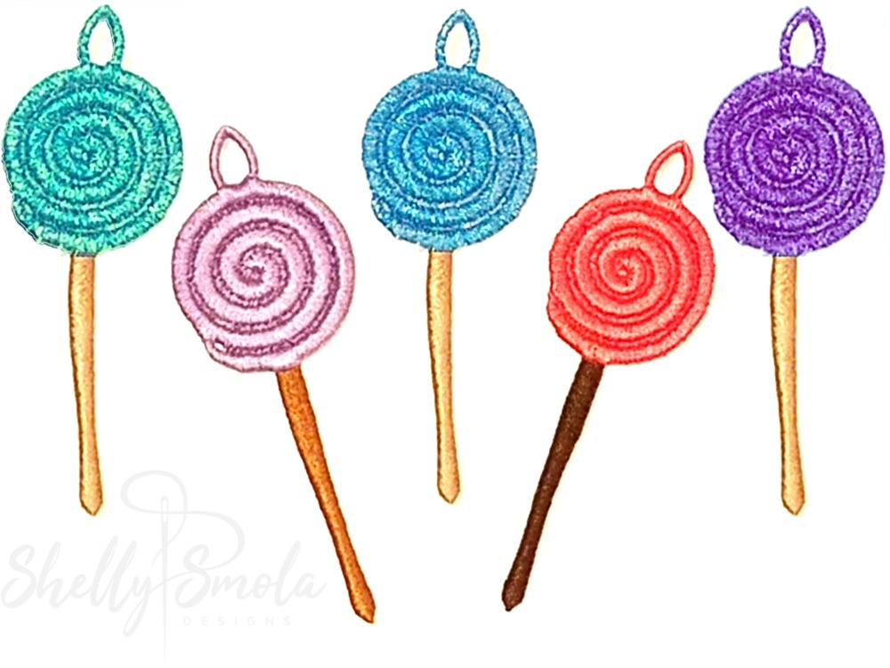 Merry Mini Lollipops by Shelly Smola
