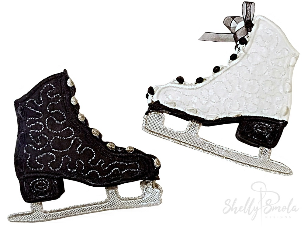 Merry Mini Skates by Shelly Smola