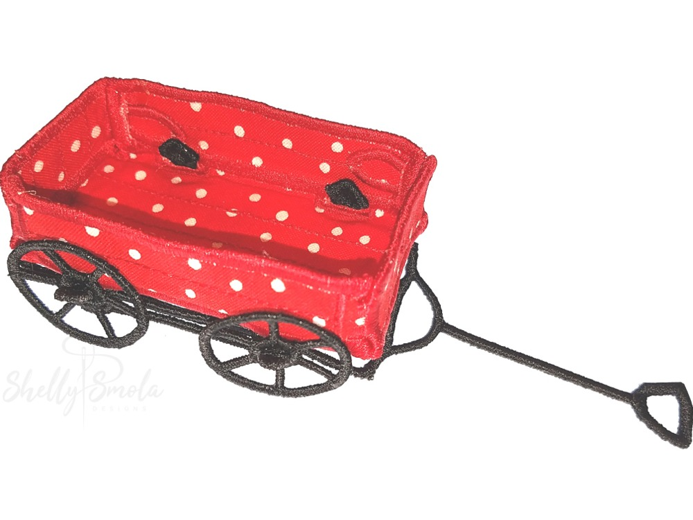 Merry Mini Wagon by Shelly Smola