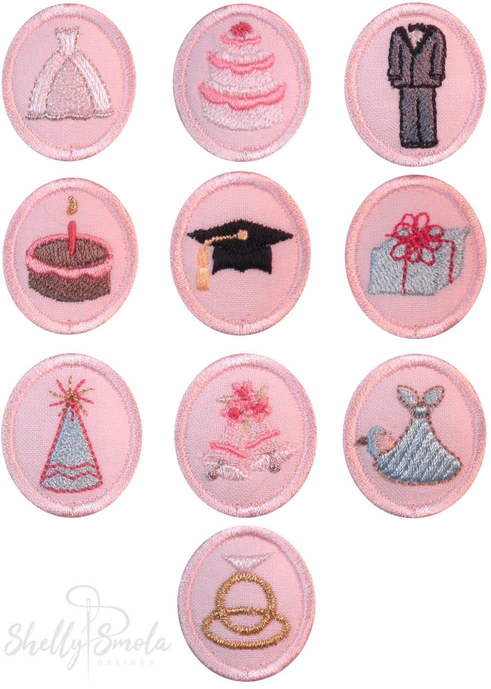 Special Occasion Discs by Shelly Smola