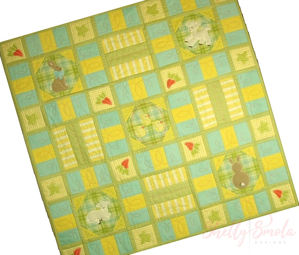 Sweet Spring Quilt by Shelly Smola