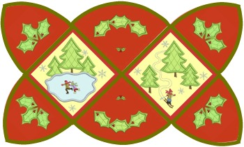 Winter Wonderland Placemat by Shelly Smola