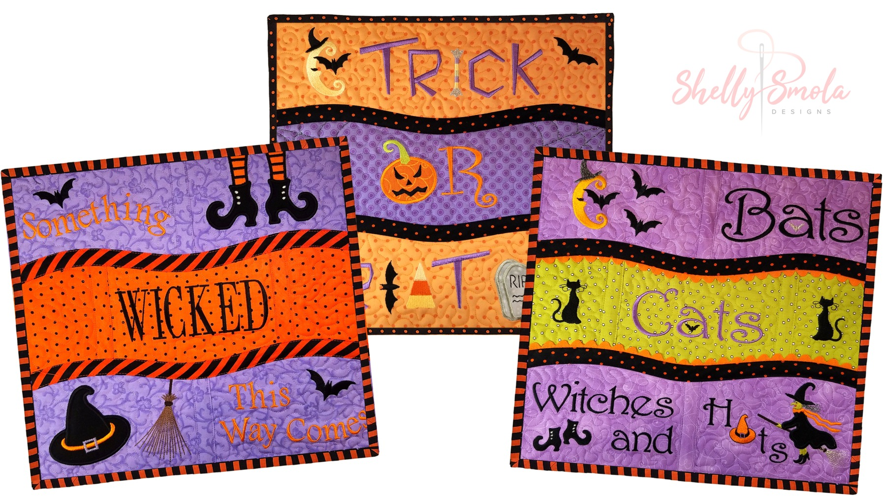 Get Wicked Placemats by Shelly Smola
