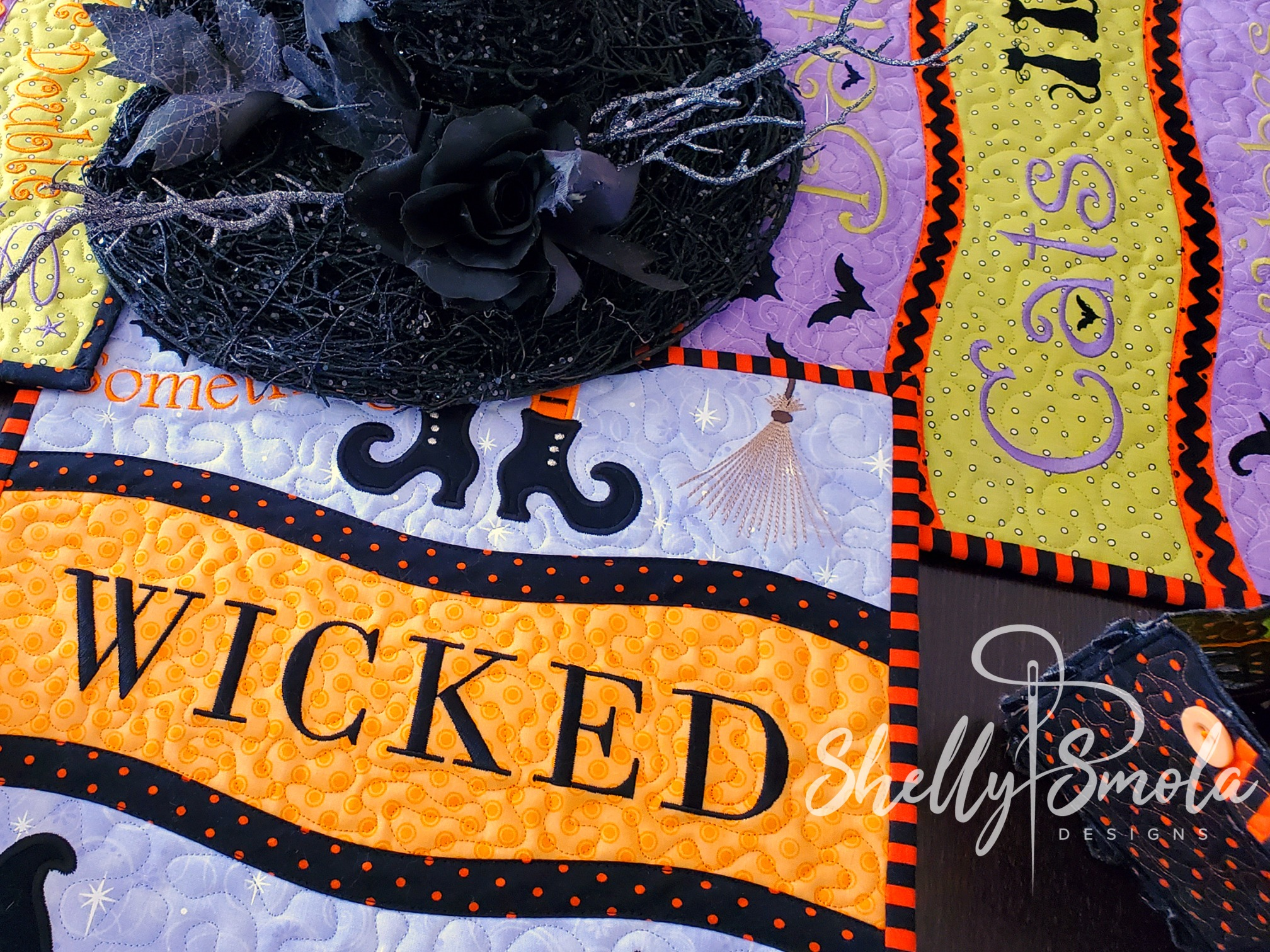 Get Wicked Placemat by Shelly Smola