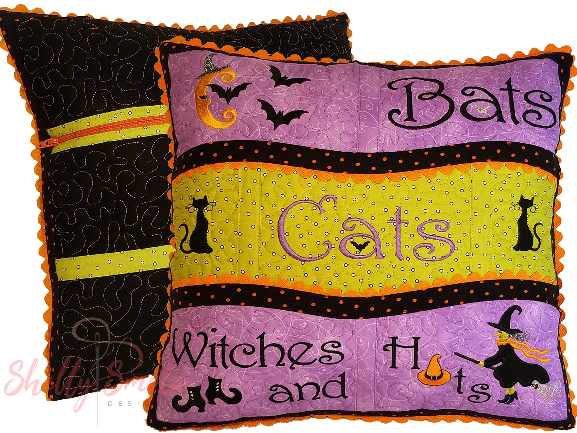 Get Wicked Pillow by Shelly Smola