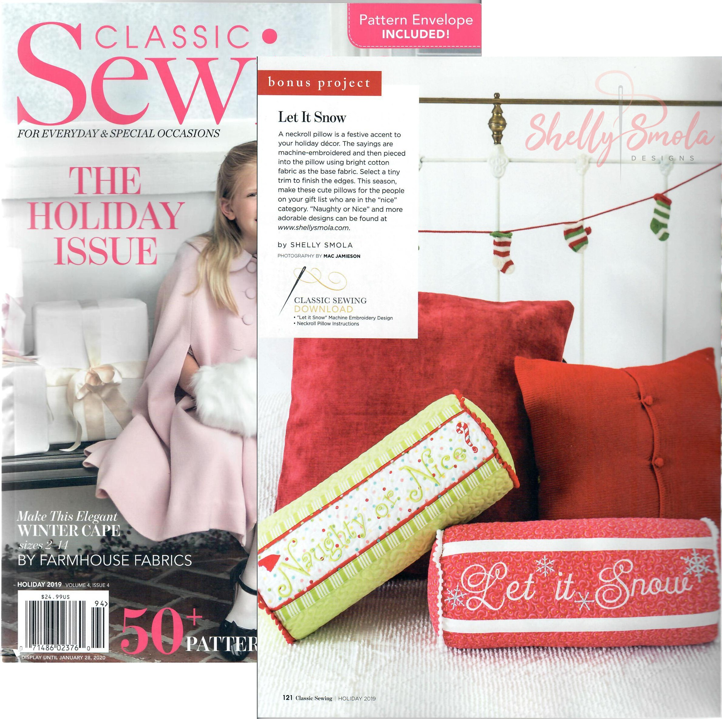 Classic Sewing Holiday 2019