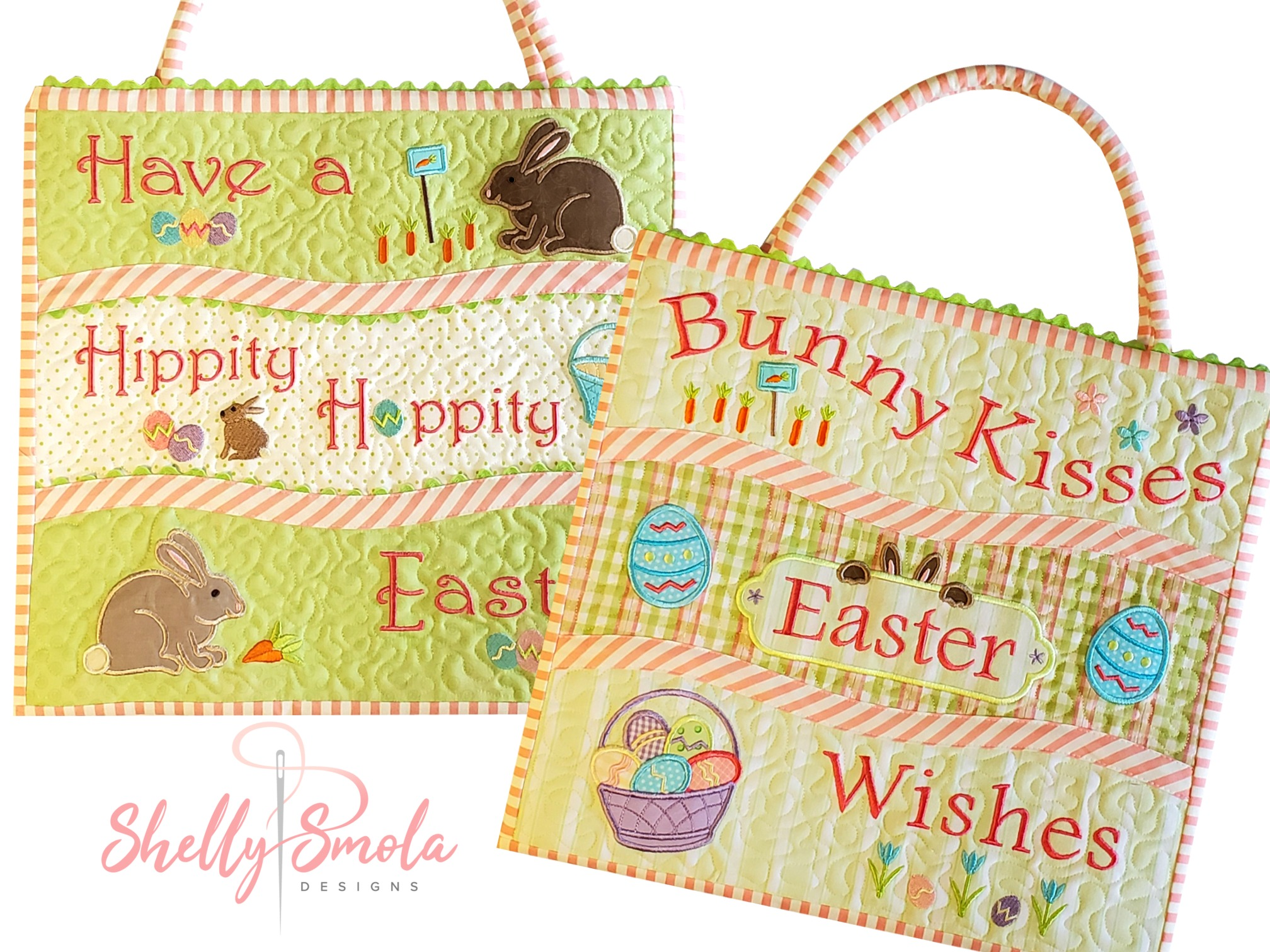 Bunny Kisses Bags by Shelly Smola
