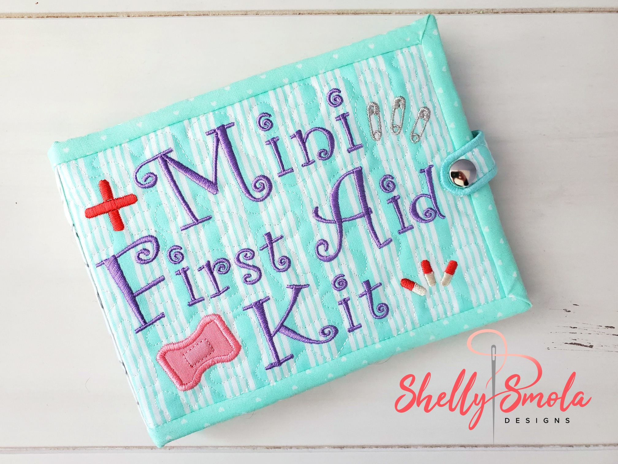 First Aidl Kit by Shelly Smola Designs