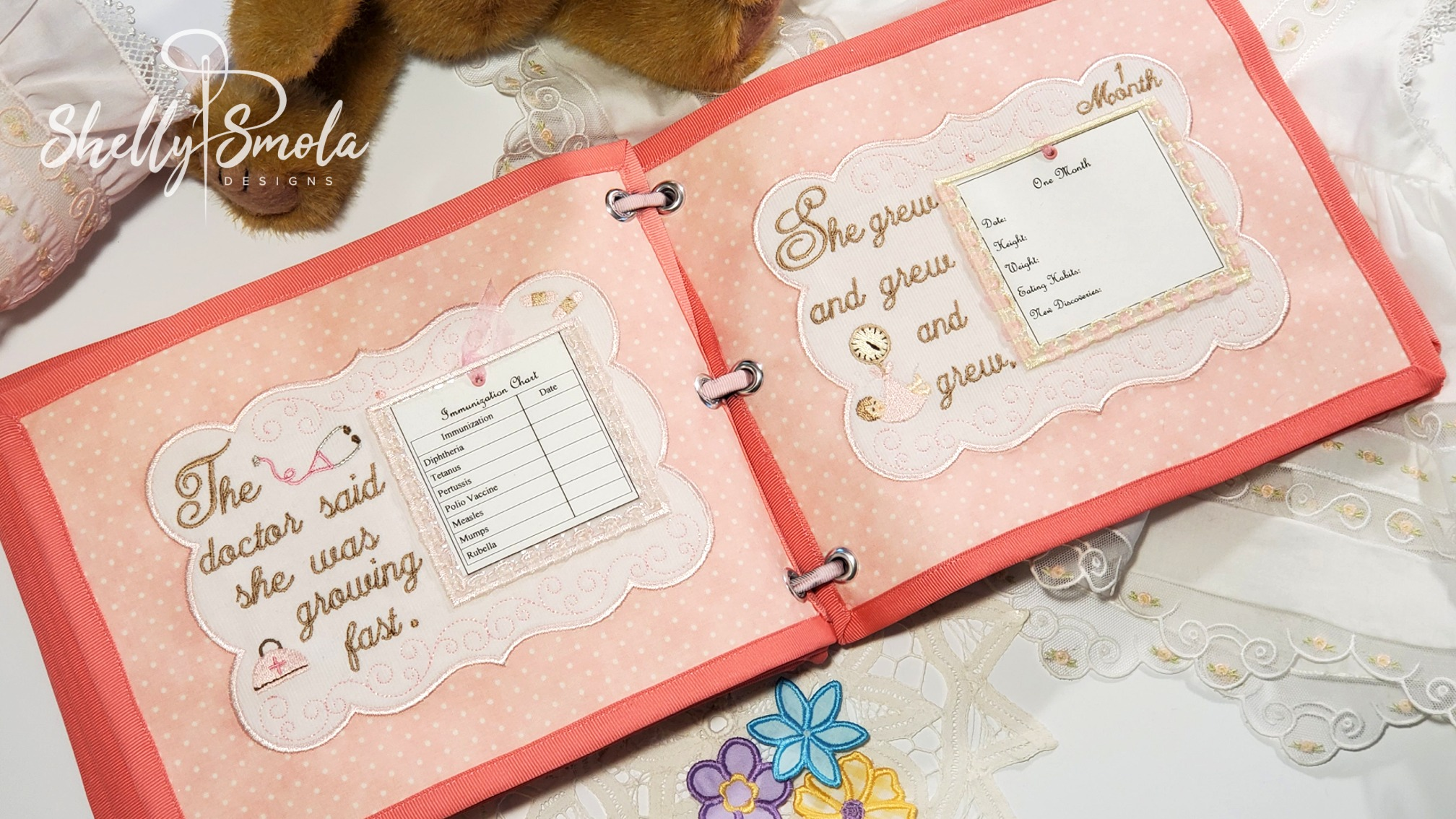 Baby Girl Book by Shelly Smola