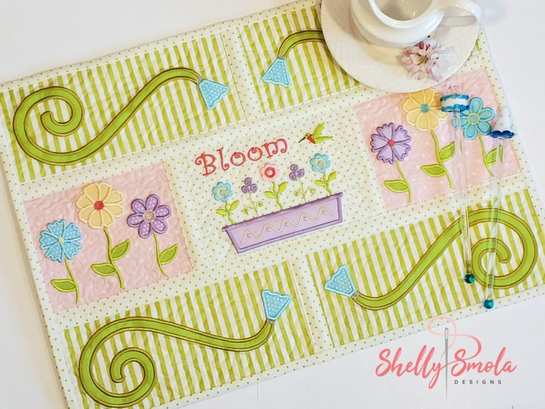 Garden Dreams Placemat by Shelly Smola