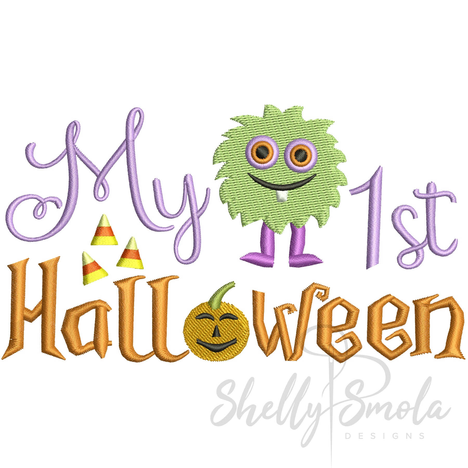 First Halloween by Shelly Smola