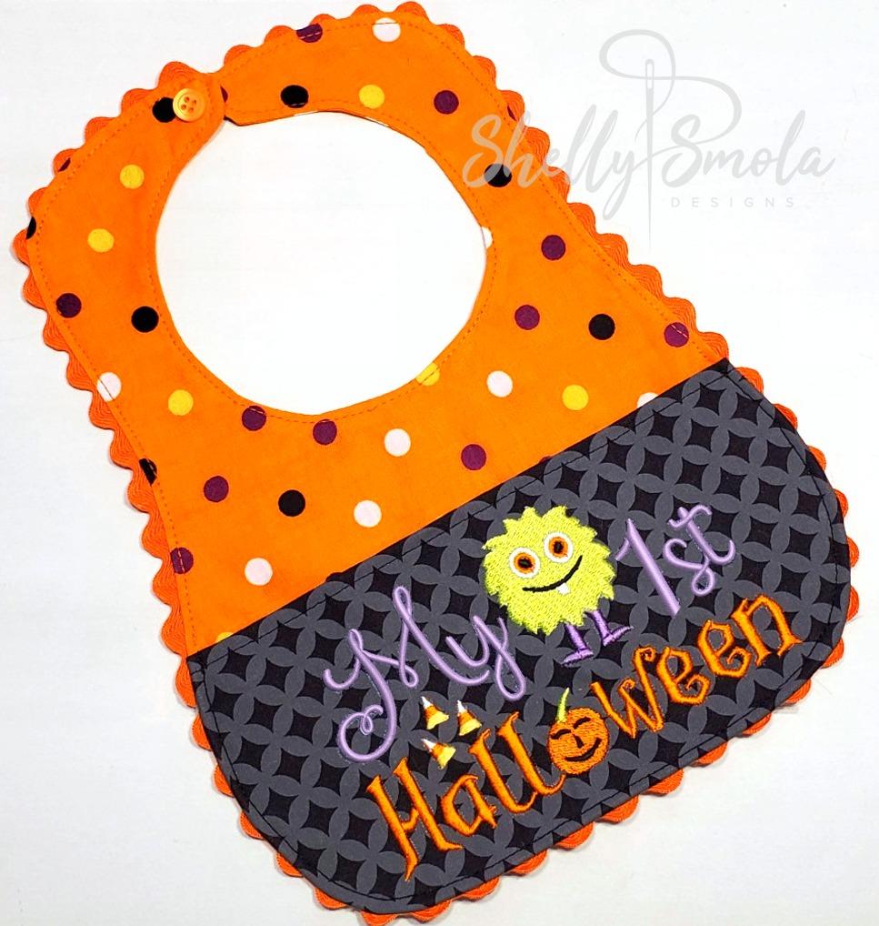 First Halloween Bib by Shelly Smola