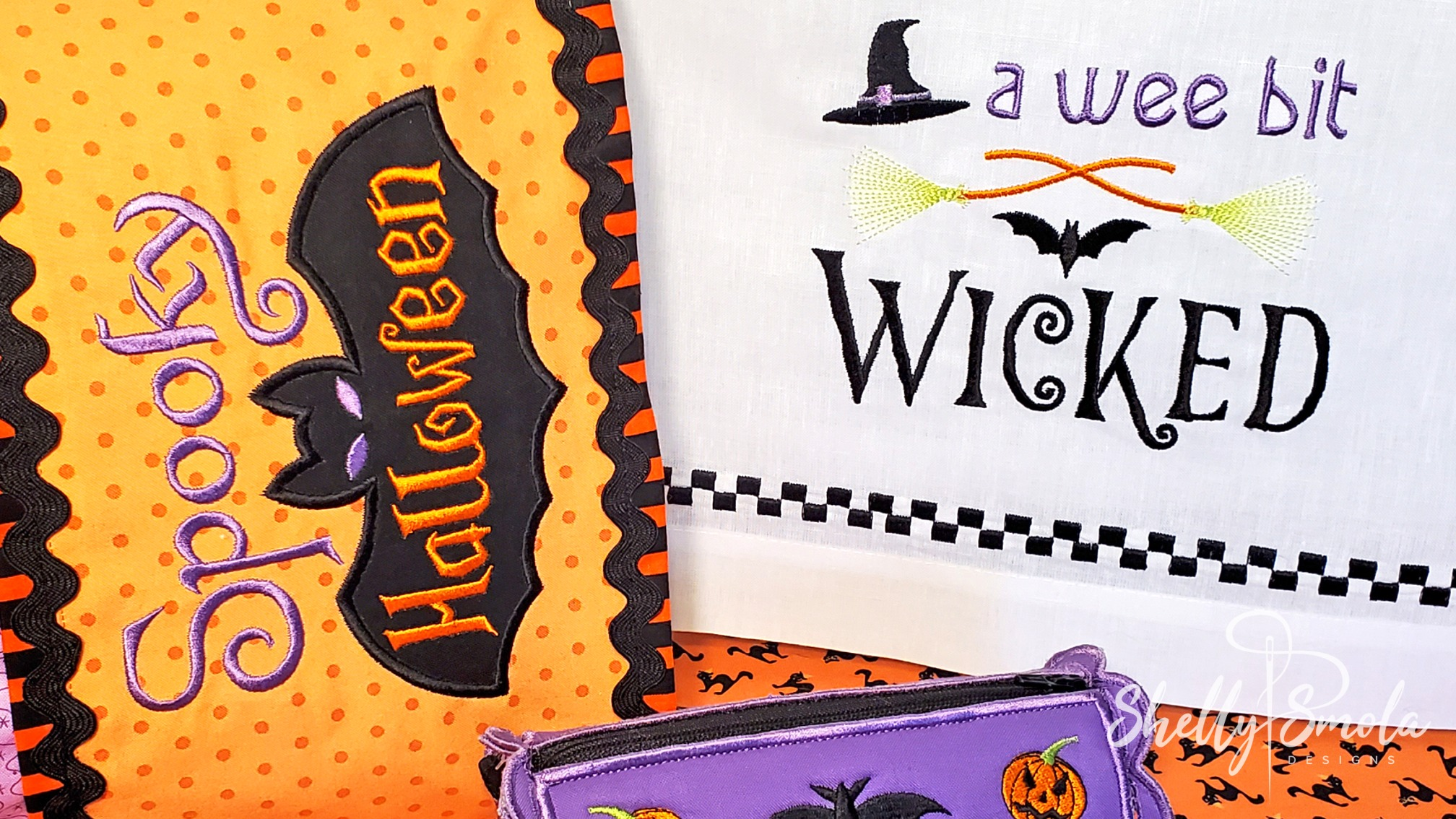 Spooky Halloween and A Wee Bit Wicked by Shelly Smola