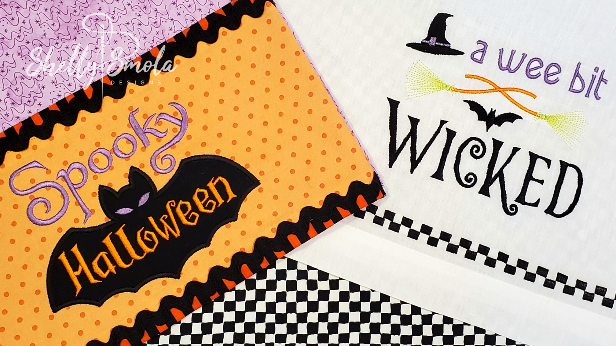 A Wee Bit Wick and Spooky Halloween by Shelly Smola