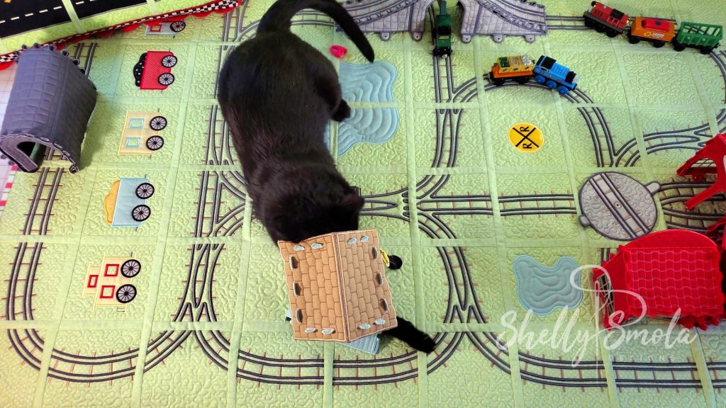 Spooky and the Bedtime Rail Line by Shelly Smola