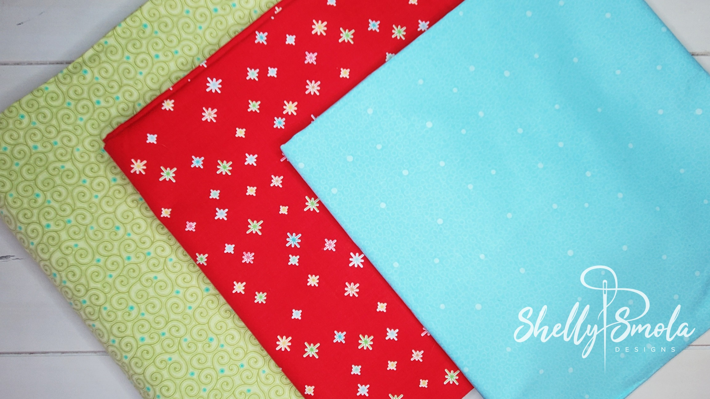Christmas Countdown Fabric by Shelly Smola
