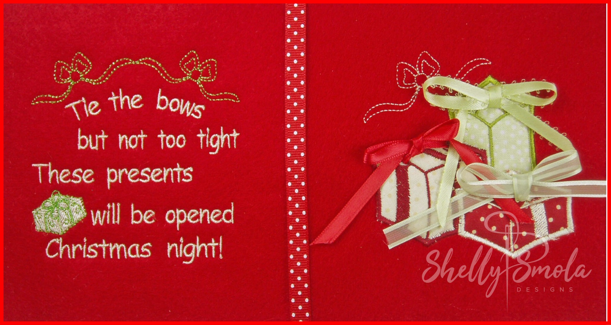 Christmas Quiet Book by Shelly Smola