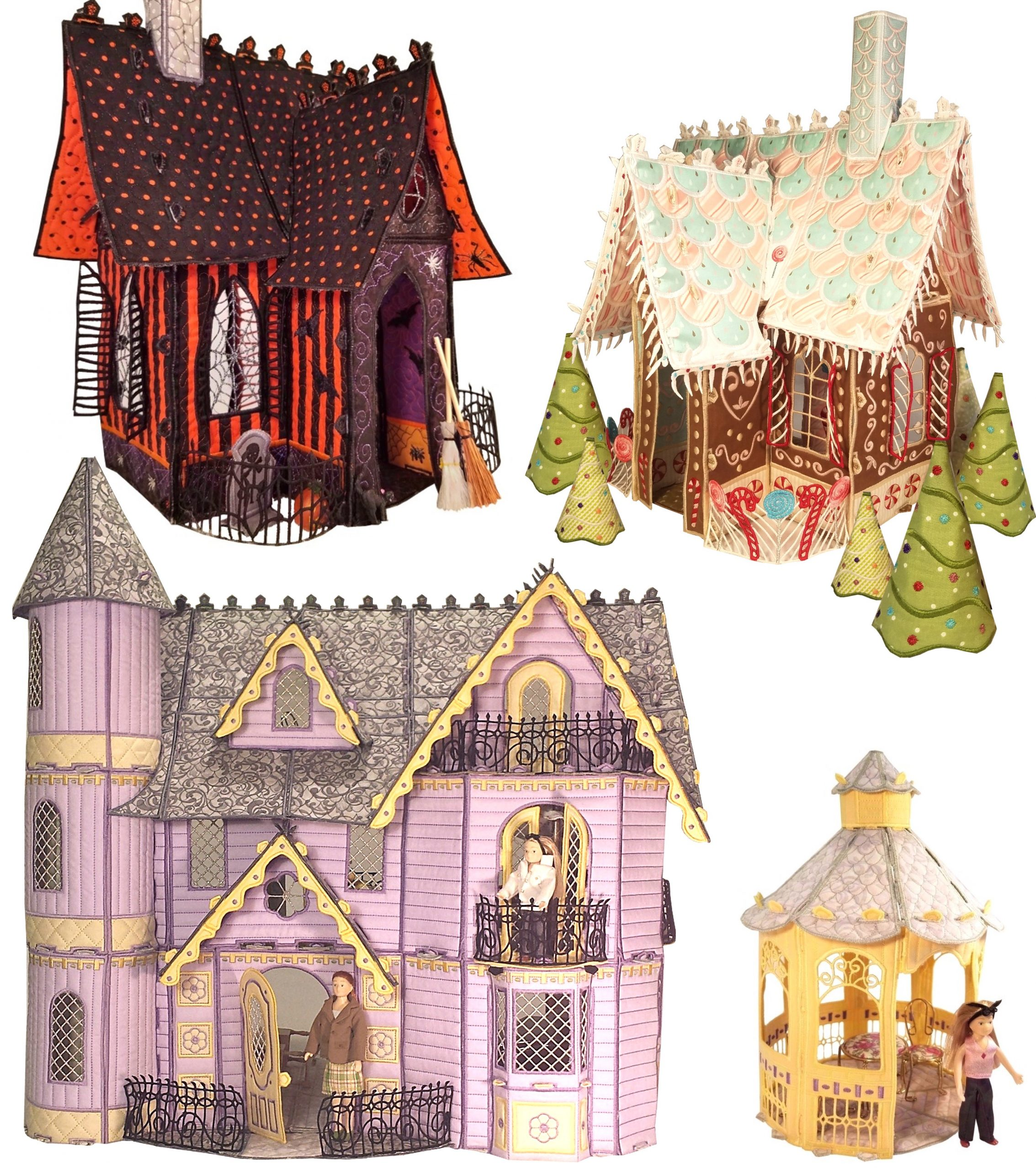 Fairy Tale Cottages by Shelly Smola