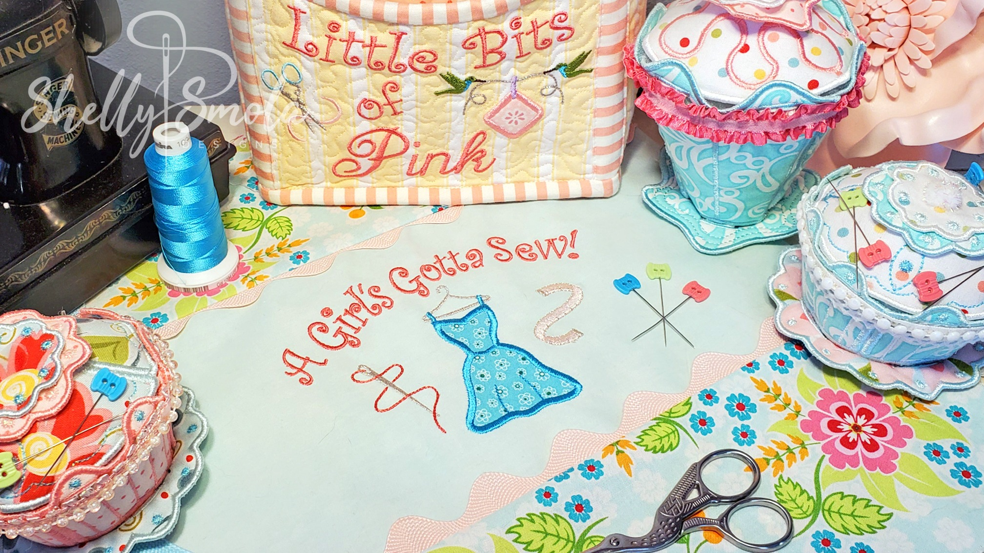 A Girl's Gotta Sew by Shelly Smola