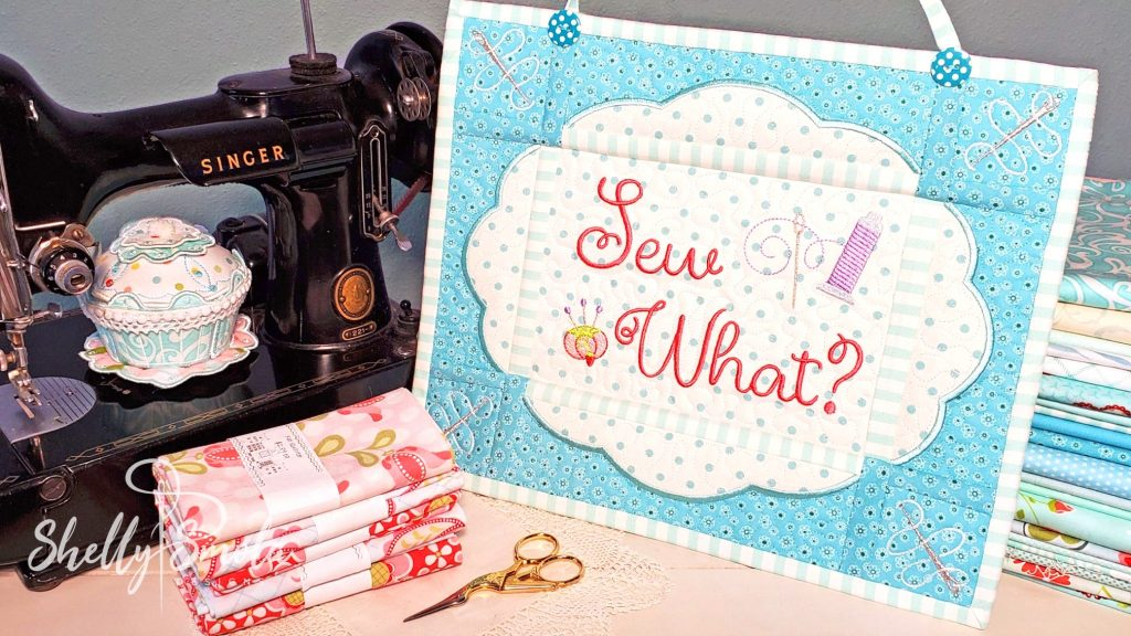Sew Crazy - Sew What by Shelly Smola