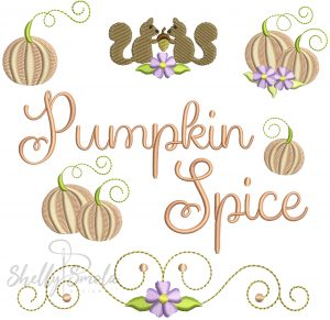 Pumpkin Spice Extras by Shelly Smola