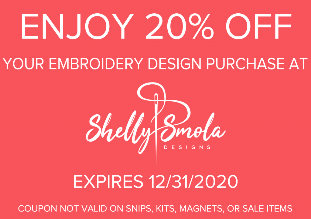 Shelly Smola Designs Coupon