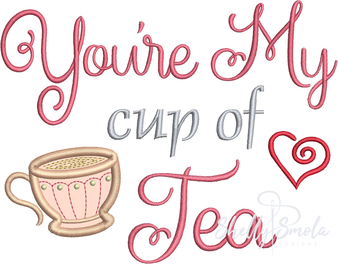 Cup of Tea by Shelly Smola
