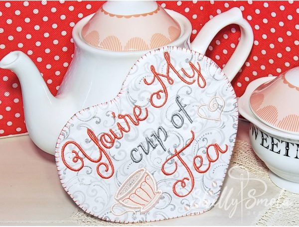 Cup of Tea Sachet by Shelly Smola