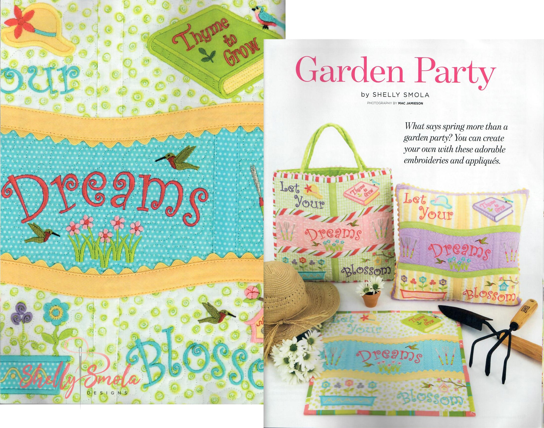 Garden Party Classic Sewing by Shelly Smola